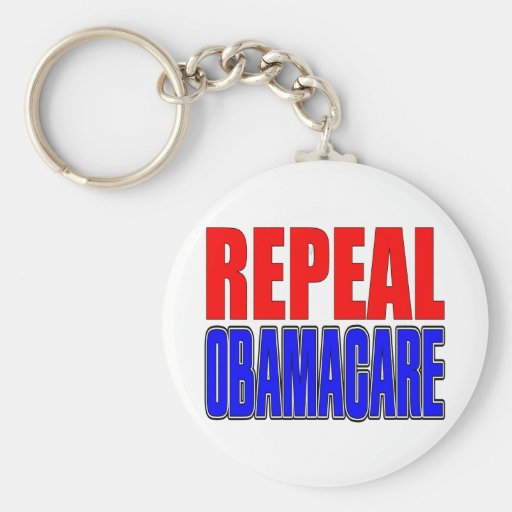 Repeal Obamacare Key Chain