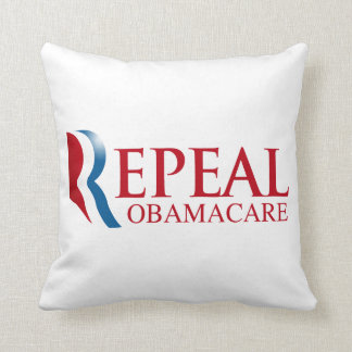 REPEAL OBAMACARE PILLOWS