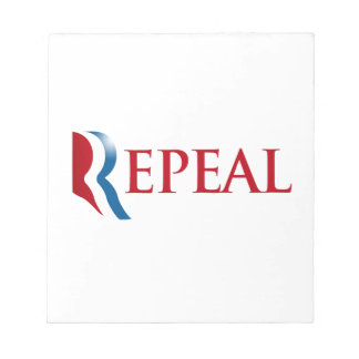 REPEAL OBAMACARE png Memo Note Pads