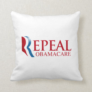 REPEAL OBAMACARE -.png Throw Pillows