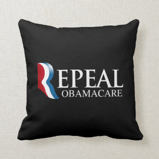 REPEAL OBAMACARE -.png Throw Pillow