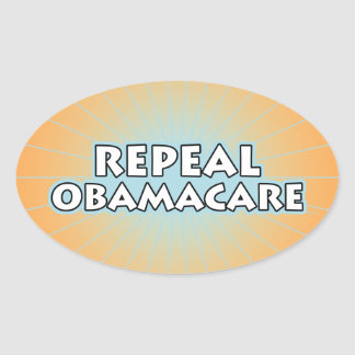 Repeal Obamacare Oval Sticker
