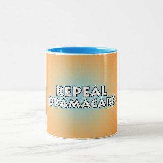 Repeal Obamacare Two-Tone Coffee Mug