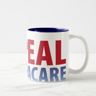Repeal Obamacare Two-Tone Coffee Mug