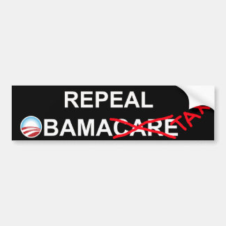 Repeal ObamaTax 2012 Bumper Sticker