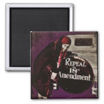 Repeal Prohibition 2 Inch Square Magnet