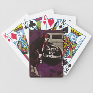 Repeal Prohibition Bicycle Playing Cards