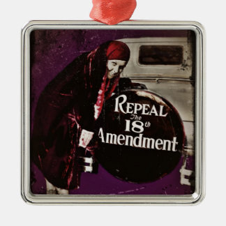 Repeal Prohibition Metal Ornament