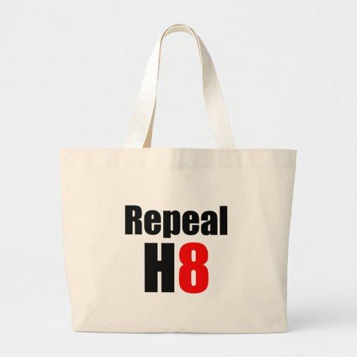 REPEAL PROP 8 / REPEAL H8 CANVAS BAG