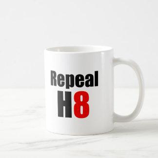 REPEAL PROP 8 / REPEAL H8 COFFEE MUGS