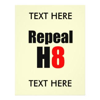 REPEAL PROP 8 / REPEAL H8 FLYERS