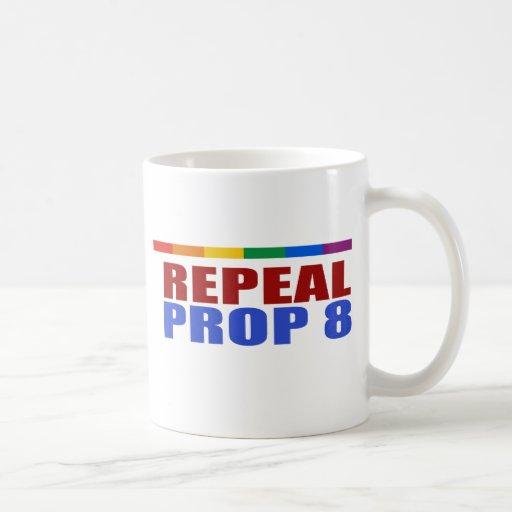 REPEAL PROP EIGHT CLASSIC WHITE COFFEE MUG