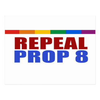 REPEAL PROP EIGHT POSTCARDS