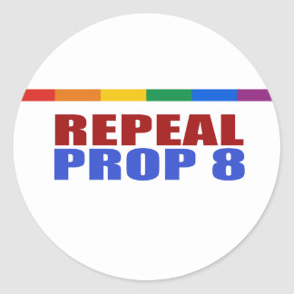 REPEAL PROP EIGHT STICKER