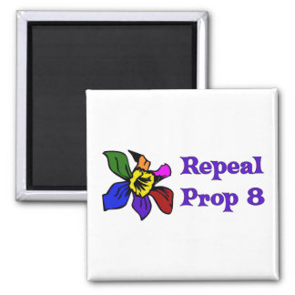 Repeal Proposition 8 2 Inch Square Magnet