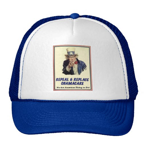 Repeal & Replace Obamacare Trucker Hat