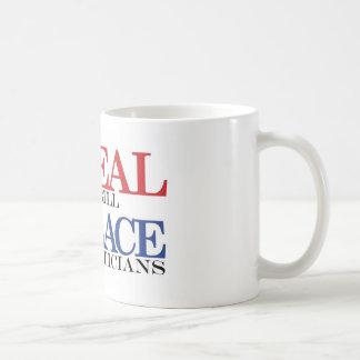 repeal & replace t-shirt classic white coffee mug
