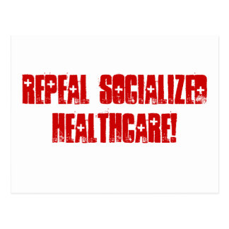 Repeal Socialized Healthcare Postcard