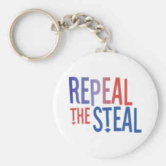 Repeal the Steal Basic Round Button Keychain