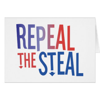 Repeal the Steal Card