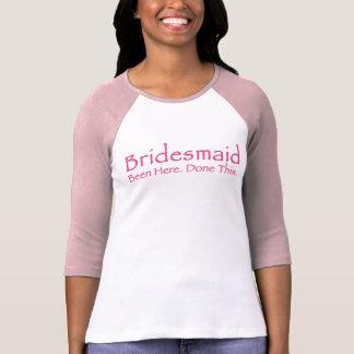 Repeat Bridesmaid T-shirt