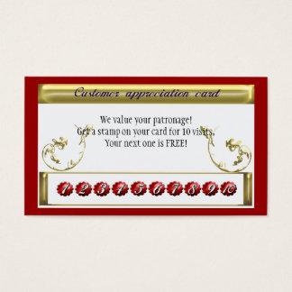 repeat business reward business card