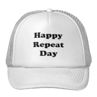 Repeat Day Mesh Hats
