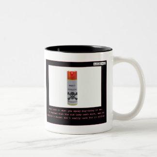 Repelente de insectos taza de café de dos colores