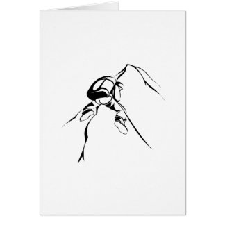 Repelling 2 greeting cards