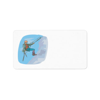 Repelling Personalized Address Labels