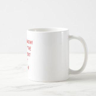 REPENT CLASSIC WHITE COFFEE MUG
