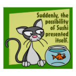 Repentinamente poster del sushi
