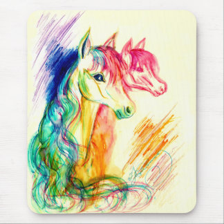 Repentir Horses Mouse Pad