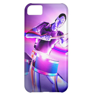 Repercussion - Purple Drummer iPhone 5C Case