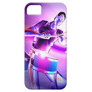 Repercussion - Purple Drummer iPhone SE/5/5s Case