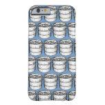 Repetición de los barriletes de cerveza funda de iPhone 6 slim