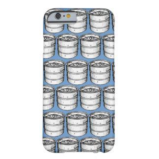 Repetición de los barriletes de cerveza funda de iPhone 6 barely there