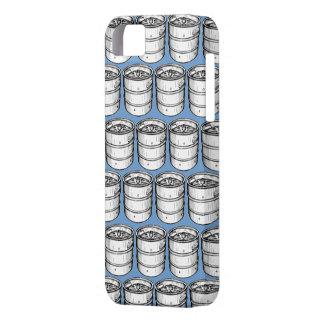 Repetición de los barriletes de cerveza funda para iPhone 5 barely there