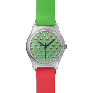 Repetición de Santa Relojes De Pulsera