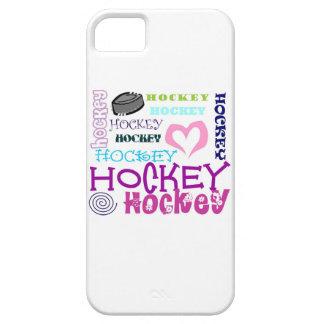 Repetición del hockey iPhone 5 carcasa