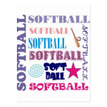 Repetición del softball postal