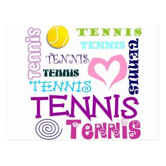 Repetición del tenis postal