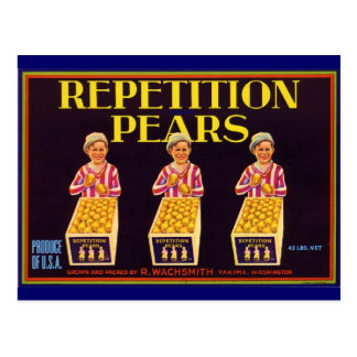 Repetition Post Card
