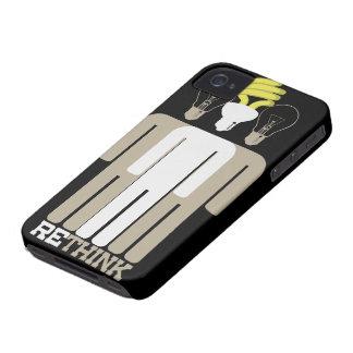 Repiense el caso del iPhone 4 iPhone 4 Case-Mate Funda