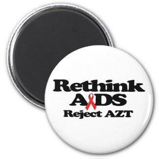 Repiense el SIDA Imán Redondo 5 Cm