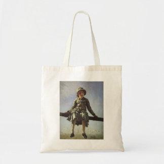 Repin-Retrato de Ilya de Vera Repina Bolsa De Mano