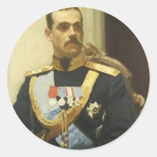 Repin-Retrato de Ilya del miembro del Consejo Pegatina Redonda
