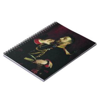 Repin-Retrato de Ilya del príncipe magnífico del p Cuaderno
