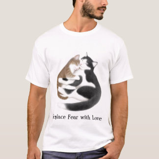 Replace Fear with Love Cats T-Shirt