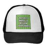 Replace Image to Design Your Own! Mesh Hats